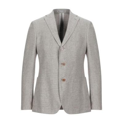 カンタレリ CANTARELLI テーラードジャケット ベージュ 50 麻 75% / バージンウール 25% テーラードジャケット