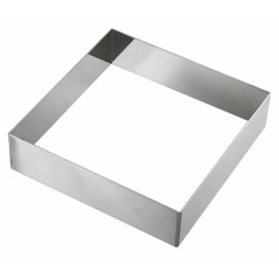 EBM 18-8 アルゴン溶接 正角型セルクルリング 150×150×H40    [0867-07]