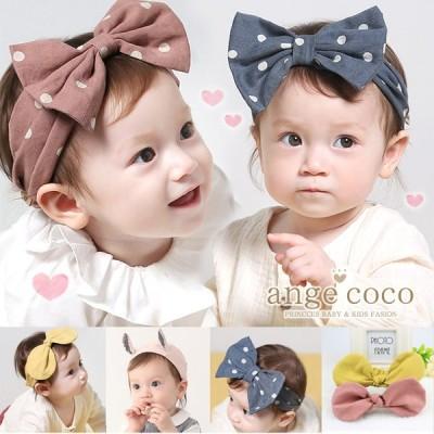 やわらかベビーターバン 幅広 赤ちゃん ヘアバンド ヘッドバンドド 髪飾り ベビー 出産祝い 女の子 入園 コスチューム 着ぐるみ