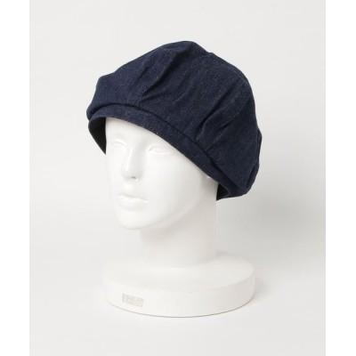 FUNALIVE / 【JABURO】ヘリンボーンベレー帽 MEN 帽子 > ハンチング/ベレー帽