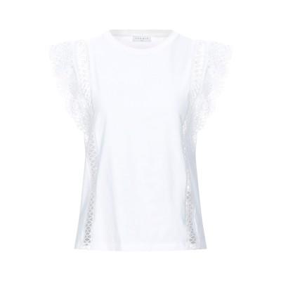 SANDRO T シャツ ホワイト 2 コットン 100% T シャツ