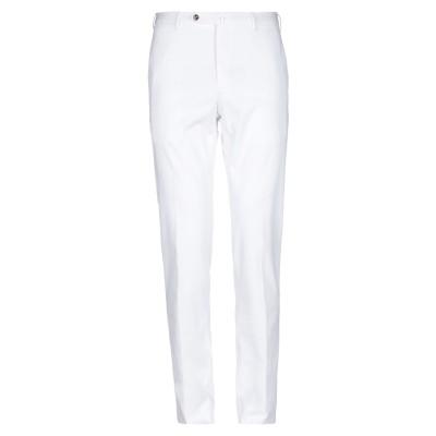 PT Torino パンツ ホワイト 46 コットン 98% / ポリウレタン 2% パンツ