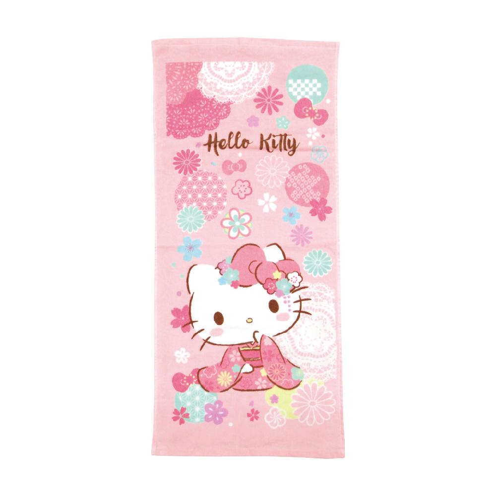 凱蒂貓和風櫻花毛巾