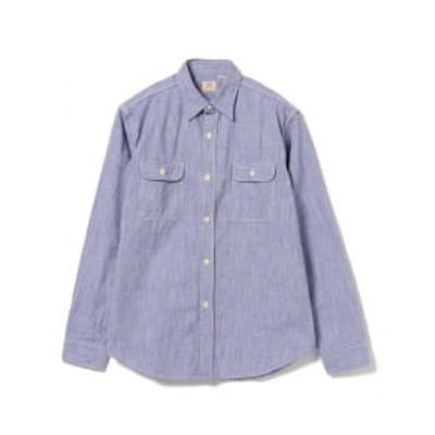 <MEN>SUGAR CANE / ピンチェック ワークシャツ