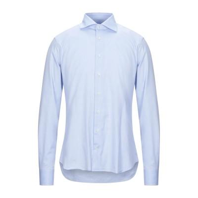 STELL BAYREM シャツ スカイブルー 40 コットン 100% シャツ