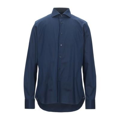 ALEA シャツ ブルー 42 コットン 100% シャツ