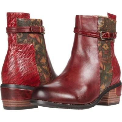 スプリングステップ L'Artiste by Spring Step レディース ブーツ シューズ・靴 Kanessa Dark Red