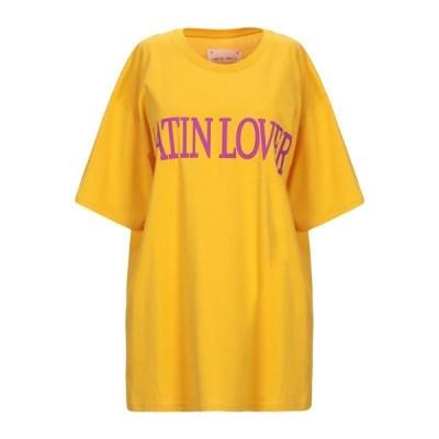 ALBERTA FERRETTI Tシャツ  レディースファッション  トップス  Tシャツ、カットソー  半袖 オークル