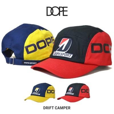 DOPE ドープ DRIFT CAMPER CAP キャップ 5-PANEL CAP 帽子 ストラップバックキャップ 5パネルキャップ DOPE SPORT ドープスポーツ