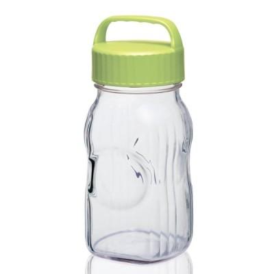 東洋佐々木ガラス フル-ツシロップ瓶 グリーン 1.5L