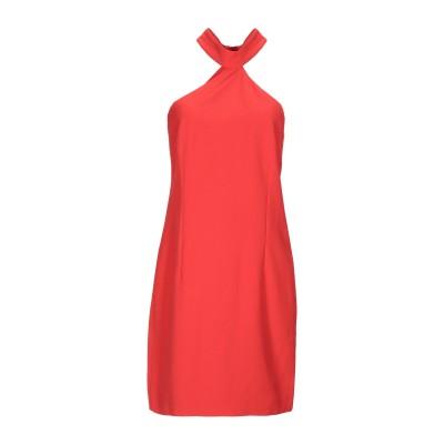 LUNATIC ミニワンピース&ドレス レッド 42 ポリエステル 88% / ポリウレタン 12% ミニワンピース&ドレス