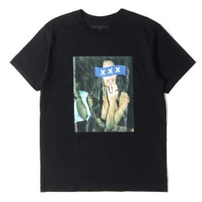 GOD SELECTION XXX ゴッド・セレクション・トリプルエックス Tシャツ レディー フォト ヘビー Tシャツ T-SHIRT 18AW ブラック M 【メンズ