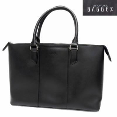 ビジネスバッグ◆トートバッグ◆[BAGGEX]◆黒◆牛革◆軽量◆キャリーオン機能◆通勤/通学 bg13-6102-BK