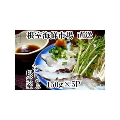 ふるさと納税 【北海道根室産】たこしゃぶ用水たこ750g A-14055 北海道根室市