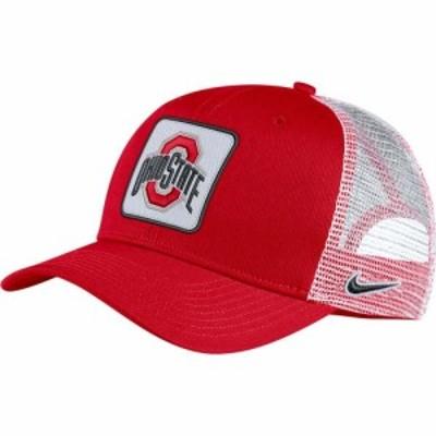 ナイキ Nike メンズ キャップ トラッカーハット 帽子 Ohio State Buckeyes Scarlet Classic99 Trucker Hat