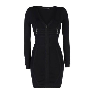 MARCIANO ミニワンピース&ドレス ブラック 3 レーヨン 83% / ポリエステル 16% / ポリウレタン 1% ミニワンピース&ドレス