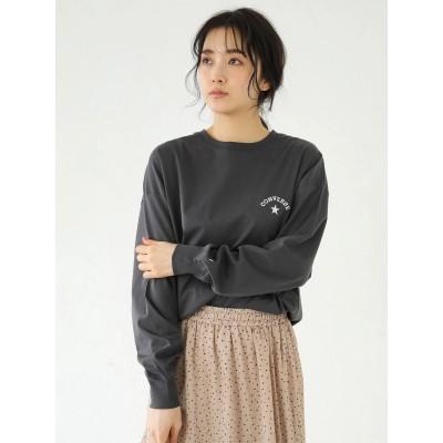 【WEB限定】CONVERSE刺繍ロゴロンT