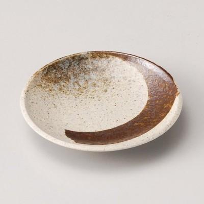 和食器 志野サビ刷毛 丸皿 12.4×2cm プレート うつわ 陶器 おうち ごはん カフェ おしゃれ 軽井沢 春日井