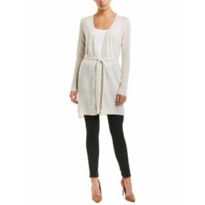 ファッション トップス Incashmere Open Cashmere Cardigan M White
