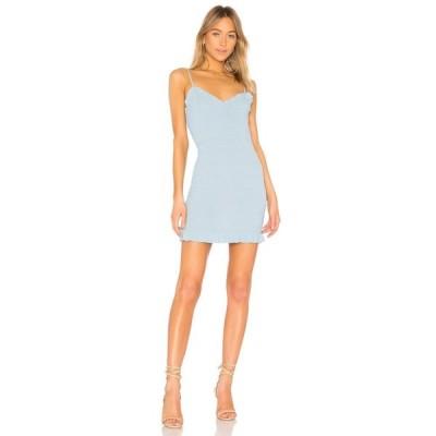 ラヴァーズフレンズ Lovers + Friends レディース ワンピース ワンピース・ドレス Monaco Dress Baby Blue
