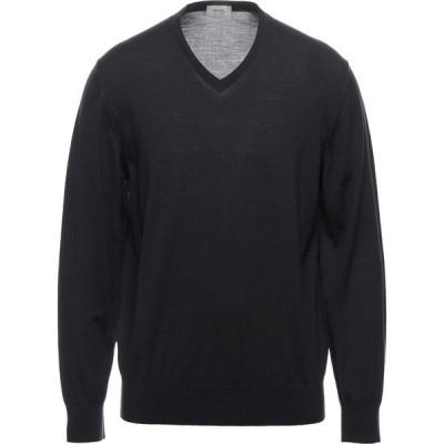 ZZEGNA メンズ ニット・セーター トップス Sweater Steel grey