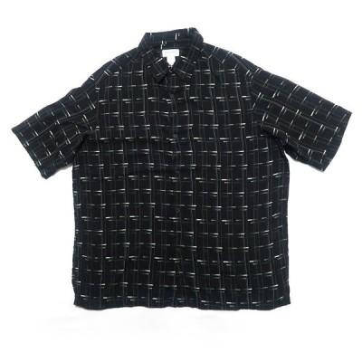 CONCEPTS レーヨンシャツ 総柄 サイズ表記:XL