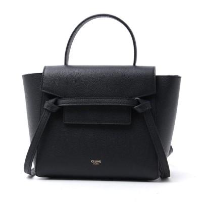 セリーヌ CELINE ハンドバッグ 2WAY Belt Bag Nano ベルトバッグ ブラック レディース 18900-3zva-38no