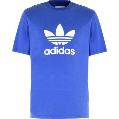 アディダス ADIDAS ORIGINALS メンズ Tシャツ トップス Trefoil T-Shirt Bright blue