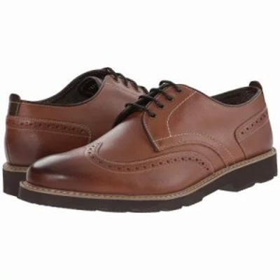 フローシャイム 革靴・ビジネスシューズ Casey Wingtip Oxford Cognac Smooth