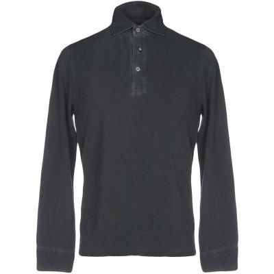 ヘリテージ HERITAGE ポロシャツ 鉛色 48 コットン 100% ポロシャツ