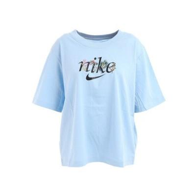 ナイキ(NIKE) NSW ボクシー ネイチャー 半袖Tシャツ DD1457-436 (レディース)