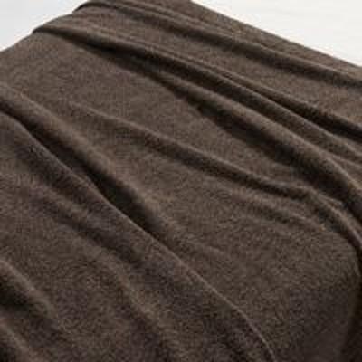 良品計画無印良品 綿パイルタオルケット・S/杢ブラウン 140×200cm 82051346 良品計画
