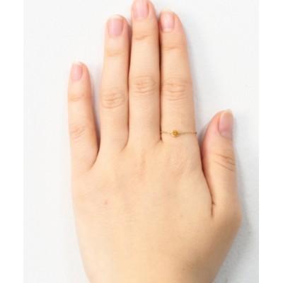 sowi / 【K10】サイズフリー 天然石 誕生石 チェーンリング WOMEN アクセサリー > リング