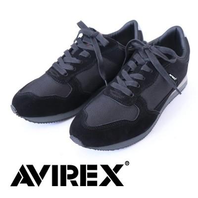 アヴィレックス AVIREX レトロランニングシューズ ローカットスニーカー ライオット 靴 シューズ アメカジ ブランド