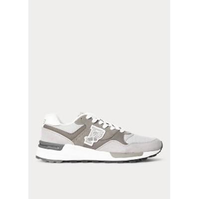 ラルフローレン メンズ スニーカー Polo Ralph Lauren RLX Tech Sneaker シューズ Channel Grey/Museum Grey