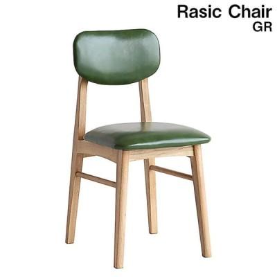 デスクチェア GR Rasic Chair チェア 椅子 ダイニングチェア 天然木 シンプル モダン ソフトヴィンテージ 市場家具 送料無料