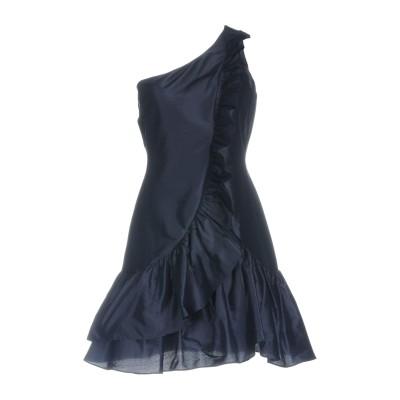 ツインセット シモーナ バルビエリ TWINSET ミニワンピース&ドレス ダークブルー 44 シルク 100% ミニワンピース&ドレス