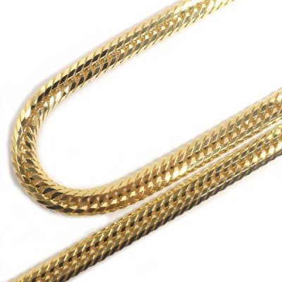 喜平 ネックレス 18金 K18 トリプル12面 50cm 30g 造幣局検定刻印 ゴールド キヘイ チェーン 12面トリプル 十二面 750 新品 即納