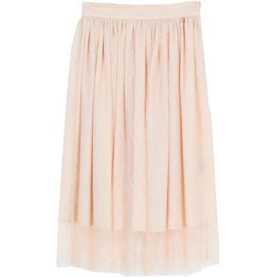 ブルーガール ブルマリン BLUGIRL BLUMARINE 7分丈スカート ベージュ 42 ナイロン 100% / ポリエステル 7分丈スカート