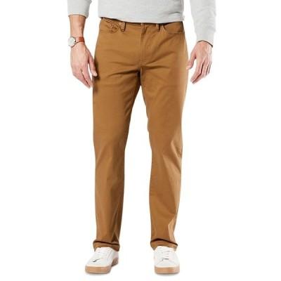 ドッカーズ カジュアルパンツ ボトムス メンズ Men's Jean-Cut Supreme Flex Straight Fit Pants Dark Ginger