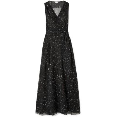 EYWASOULS MALIBU ロングワンピース&ドレス ブラック M/L ポリエステル 100% ロングワンピース&ドレス