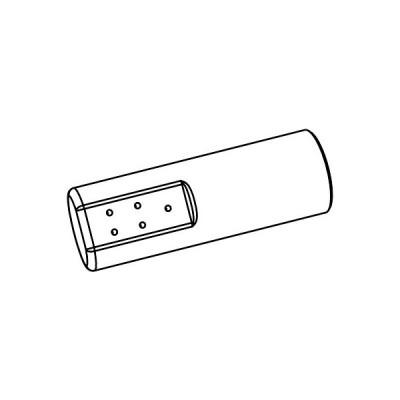 トイレ関連部材 INAX/LIXIL CWA-224 シャワートイレ用付属ビデ用ノズル先端 リフレッシュサティスDWV10型用 ホワイト [◇]