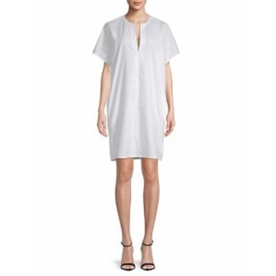 ヴィンス レディース ワンピース Classic Cotton Popover Dress
