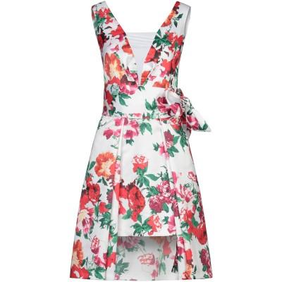 ALESSANDRO LEGORA ミニワンピース&ドレス ホワイト 42 ポリエステル 100% ミニワンピース&ドレス