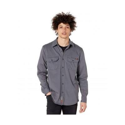 Timberland PRO ティンバーランド メンズ 男性用 ファッション ボタンシャツ FR Cotton Core Button Front Shirt - Charcoal