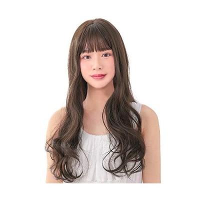 AQUADOLL(アクアドール) ウィッグ ロング カール フルウィッグ グラデーション プリン 黒髪 金髪 ピンク フリーサイズ DBR.