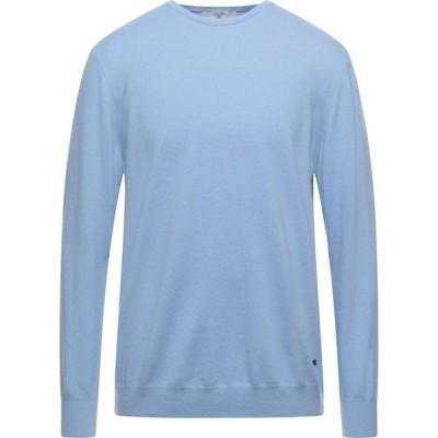 リウジョー LIU JO MAN メンズ ニット・セーター トップス Sweater Sky blue