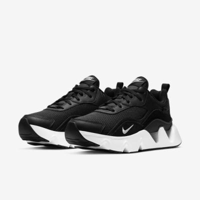 Nike 休閒鞋 RYZ 365 II 運動 女鞋 厚底 舒適 增高 球鞋 穿搭 簡約 黑 白 CU4874001