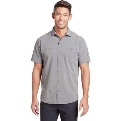 キュール メンズ シャツ トップス Optimizr Short-Sleeve Shirt