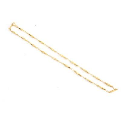 羽切り子 ゴールド メッキ チェーン ネックレス  国産 レディース メンズ ペンダント p30-sne1428